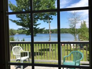 Perfect family lakefront cottage for all ages to be together!