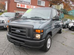 2012 Ford E-150 XLT 8 Passenger, Front and Rear A/C-Heat