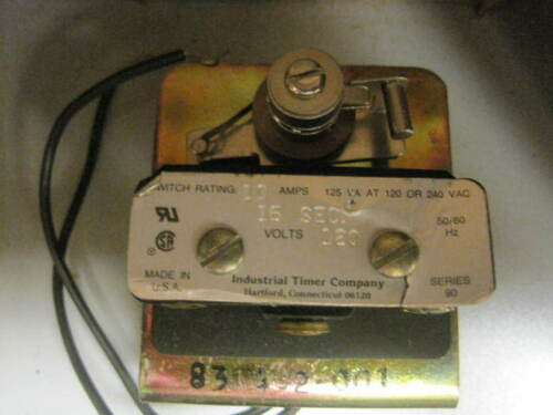 Time Delay 90-15S ITC Industrial Timer Co 62068 6645006016793 *