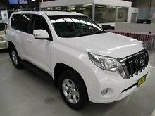 2015 Toyota Landcruiser Prado GDJ150R GXL White 6 Speed Sports Automatic Wagon Maryville Newcastle Area Preview