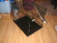 Wire Frame Dog Kennel for Medium and Small Sized Pets.