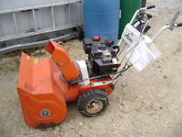 Ariens 824 electric start snowblower 8HP , 24""