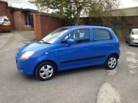 2007 CHEVROLET MATIZ 1.0 SE - 5 DOOR - ONLY 35'000 MILES, NEW M.O.T -ONE OWNER- EXCELLENT CHEAP CAR