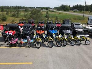 ATV, SIDE BY SIDE, MOTORCYCLES, KIDS ATV & MUCH MORE