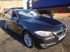 13 BMW 520D 184 BHP EFFICIENT DYNAMICS DIESEL £30 A YEAR TAX