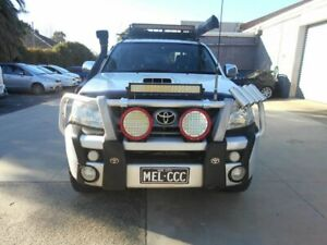 2009 Toyota Hilux SR5 White Automatic Dual Cab Preston Darebin Area Preview