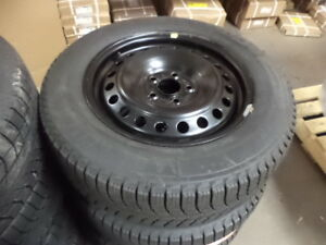 """Ford Fusion 16"""" Michelin winter rim package, fits 2013-2016"""