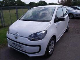 VOLKSWAGEN UP TAKE UP - FSH White Manual Petrol, 2014