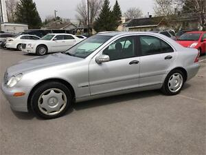 2003 Mercedes-Benz C-240 2.6L 4matic