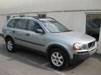2004 Volvo XC90 7 PASSAGERS, DVD, CUIR+TOIT OUVRANT++++