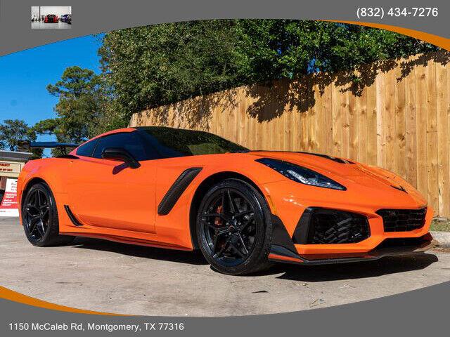 2019 Orange Chevrolet Corvette ZR1  | C7 Corvette Photo 1