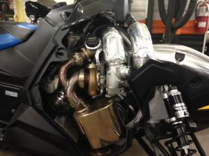 Silber Turbo Kit For 800 Axys