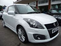 SUZUKI SWIFT 1.6 SPORT 3d 134 BHP (white) 2014