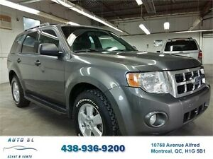 ***2010 FORD ESCAPE XLT***4 CYLINDRES/BLUETOOTH/DEMARREUR/USB