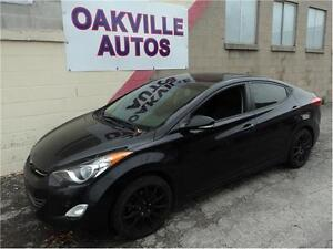 2012 Hyundai Elantra Limited-SUNROOF-XM RADIO-HEATED SEATS Oakville / Halton Region Toronto (GTA) image 1