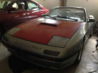 1988RX-7 TURBO Convertible, FC3S convertible!
