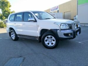 2008 Toyota Landcruiser Prado KDJ120R 07 Upgrade GX (4x4) White 5 Speed Automatic Wagon Malaga Swan Area Preview