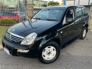 2005 Ssangyong Rexton Y200 RX320 Limited Black 4 Speed Automatic Wagon St James Victoria Park Area Preview