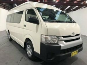 2013 Toyota HiAce KDH223R MY12 Upgrade Commuter White 4 Speed Automatic Bus Fyshwick South Canberra Preview