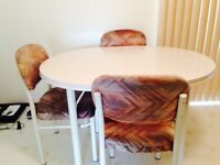 Kitchen Set - Table and 4 Chairs