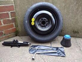 Space saver wheel fixing kit