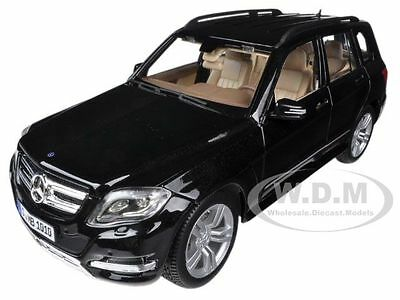 MERCEDES GLK CLASS BLACK 1/18 DIECAST CAR MODEL BY MAISTO 36200