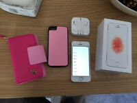 iPhone SE 16gb rose gold EE