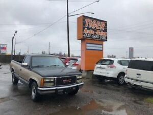 1991 GMC Sierra 350 V8**ONLY 178 KM**NEW TIRES**CLEAN TRUCK**AS