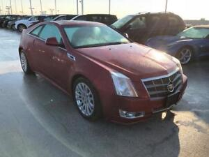 2011 CADILLAC CTS 4 AWD COUPE PREMIUM RED