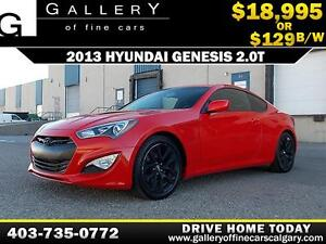 2013 Hyundai Genesis 2.0T $129 bi-weekly APPLY NOW DRIVE NOW