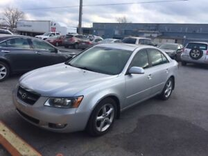 2008  Sonata 3.3L ,Loaded,leather,sunroof,New tires,Certified