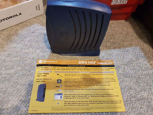 Motorola SB5102 SURFboard Cable Modem - Shaw Cable