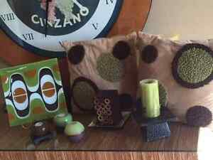 Green and Brown accesories