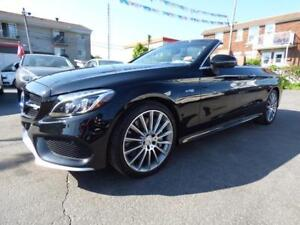 2017 MERCEDES-BENZ C43 AMG 4MATIC CABRIOLET (7,000 KM, FULL!!!)