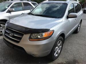 2008 Hyundai Santa Fe Limited 5-Pass Leather Roof