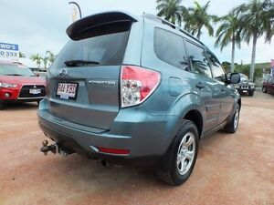 2008 Subaru Forester S3 MY09 X AWD Sage Green 5 Speed Manual Wagon Rosslea Townsville City Preview
