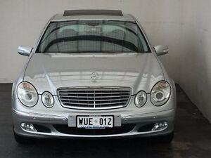 2002 Mercedes-Benz E240 W211 Elegance Brilliant Silver 5 Speed Sports Automatic Sedan Mount Gambier Grant Area Preview
