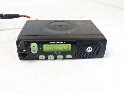 Motorola Pm400 Vhf 64ch 45w Ltr Mobile Radio Aam50kqf9aa3an