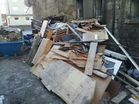Free wood for collection. Slamannan, high street