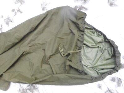 GENUINE BRITISH ARMY ISSUE og GREEN mvp GORETEX GORE TEX sleeping BIVI BAG cover