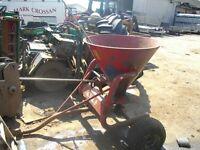 Quad Fertilizer Sower