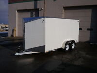 Factory Outlet Prices on Aluminum Enclosed Trailers. Saint John New Brunswick Preview