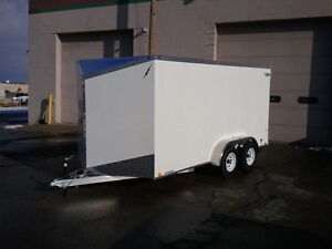 Factory Outlet Prices on Aluminum Enclosed Trailers.