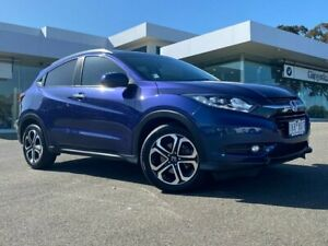 2017 Honda HR-V MY17 VTi-L Morpho Blue 1 Speed Constant Variable Hatchback Traralgon Latrobe Valley Preview