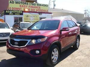 2011 KIA SORENTO EX 4X4 AUTO LOADED 103K-100% APPROVED FINANCING