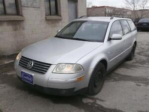 2002 Volkswagen Passat AS-Is!!! 4dr Wgn GLS Auto