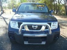 2011 Nissan Navara D40 ST (4x4) Blue 5 Speed Automatic Dual Cab Pick-up Dalby Dalby Area Preview