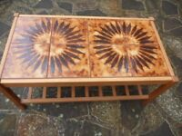 Vintage / Retro Tiled Coffee Table