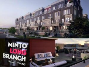 FOR RENT: Etobicoke Lakeshore, Long Branch Urban Townhome, 2 Bed