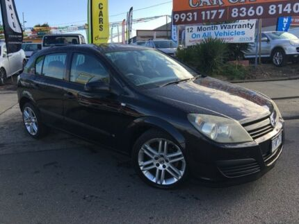 2005 Holden Astra AH CD Black 4 Speed Automatic Hatchback Laverton Wyndham Area Preview